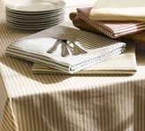 Pottery Barn Vintage Ticking Stripe Tablecloth