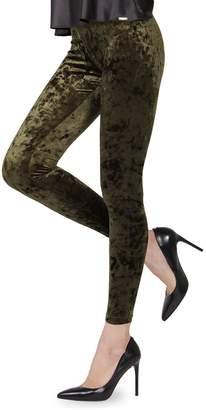 Me Moi Memoi Crushed Velvet Leggings