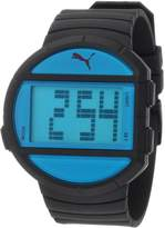 Puma Men's PU910891001 Half-Time Large Digital Black Watch