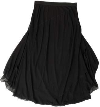Loewe Black Silk Skirt for Women