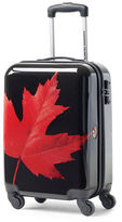 Canadian Tourister Canadian Tourister 21-Inch Spinner Maple Leaf Carry-On Suitcase