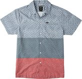 RVCA Men's Triples Short Sleeve Shirt