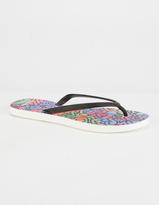 TIDAL NEW YORK Watercolors Womens Sandals