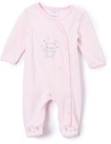 Absorba Light Pink Bear Footie - Infant