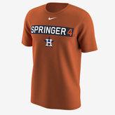Nike Legend Name and Number (MLB Astros / George Springer) Men's Training Shirt