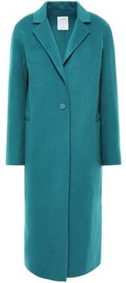 Sandro Wool And Cotton-blend Coat