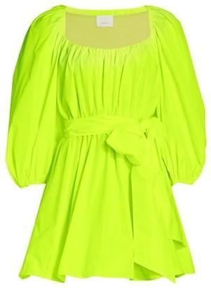 Cinq à Sept Delilah Puff-Sleeve Mini Dress