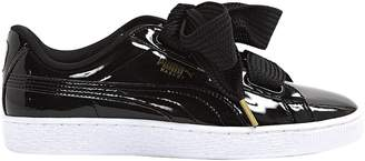 Puma Black Patent leather Trainers
