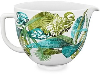 KitchenAid 5-Quart Tropical Floral Ceramic Bowl