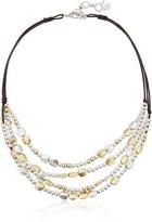 Lucky Brand Beaded Collar Necklace