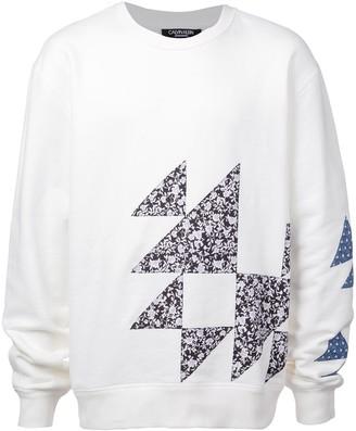 Calvin Klein geometric patterned sweatshirt
