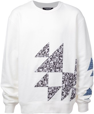 Calvin Klein Geometric Patterned Sweatshirt