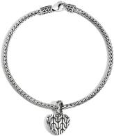 John Hardy Women's Classic Chain Heart Charm Bracelet in Sterling Silver