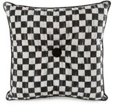 Mackenzie Childs Courtly Check Button Pillow