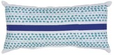 Threshold Lumbar Pillow - Turq Dot Stripe
