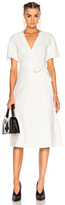 Lanvin Wrap Dress in White.