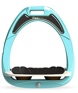 Flex on Green Composite Junior Range Junior Inclined Ultra-Grip Frame Color: Turquoise Footbed Color: Gray ELASTOMERS: