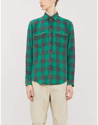Polo Ralph Lauren Check regular-fit cotton-flannel shirt