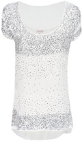 P.A.R.O.S.H. sequinned t-shirt
