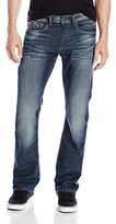 Buffalo David Bitton Men's King Slim Boot Cut Jean in New Ventura
