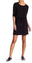 Cable & Gauge Adjustable Drawstring Sweater Dress (Petite)