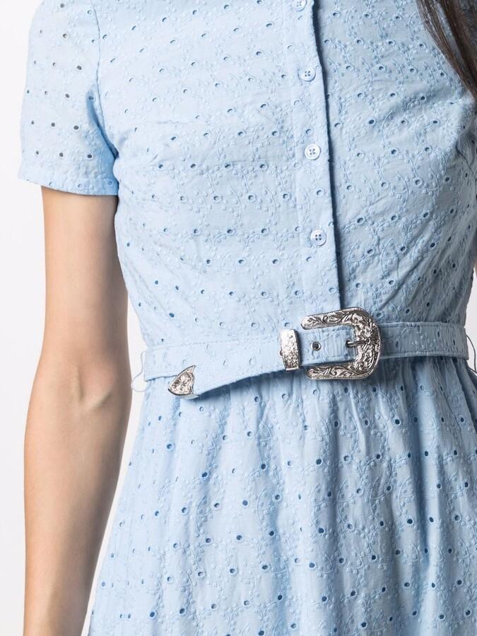 Thumbnail for your product : Lauren Ralph Lauren Eyelet Shirt Dress
