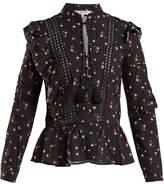 Sea Margaux Ditzy floral-print blouse