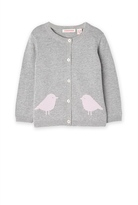 Country Road Two Bird Knit Cardigan