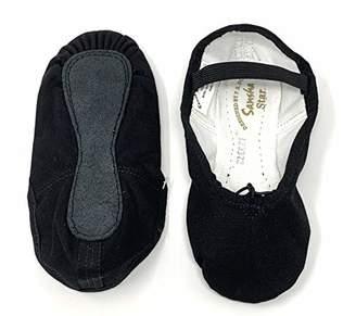 Sansha Unisex 14C Star J Medium (US Sizes AD 3.5) Ballet Flat