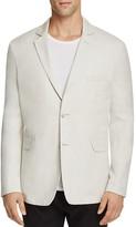 Vince Linen Blend Slim Fit Blazer