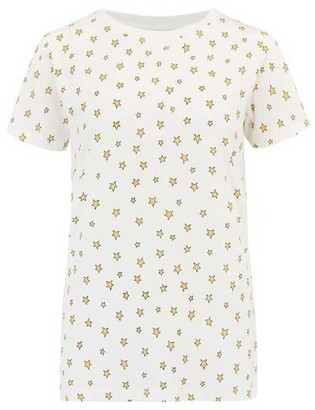 Sugarhill Boutique Maggie Little Star Print T Shirt - 10