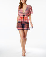 MICHAEL Michael Kors Abby Striped Cover-Up