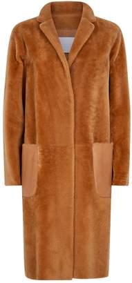 Fabiana Filippi Shearling Teddy Coat