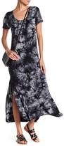 C&C California Tie-Dye Slub Maxi Dress