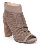 Vince Camuto Cosima Perforated Suede Ankle Boots