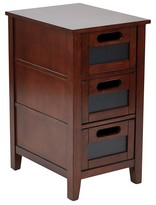 Office Star Avery Chair Side Table Saddle Finish