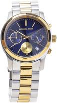 Michael Kors Blue & Two-Tone Bracelet Watch
