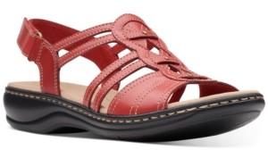 Clarks Collection Women's Leisa Janna Flat Sandals Women's Shoes