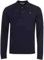 C.P. Company Long Sleeve Polo Shirt MPL043-A000973G-878 Navy