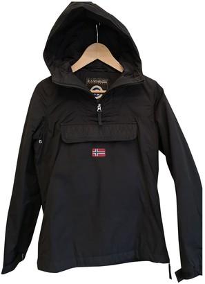 Napapijri Black Trench Coat for Women