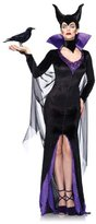 Leg Avenue Women's Disney 3Pc. Maleficent Costume Dress and Head Piece