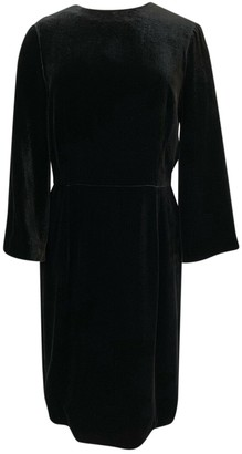 Noir Kei Ninomiya Black Velvet Dress for Women