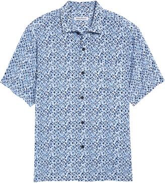 Tommy Bahama Tile Island Short Sleeve Button-Up Shirt