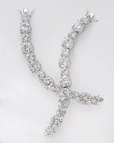 Large Crystal Graduated Large Stone Bracelet