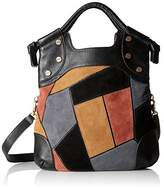 Foley + Corinna Patchwork Lady Convertible Foldover Bag