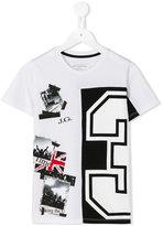 John Galliano printed T-shirt - kids - Cotton/Polyester - 4 yrs