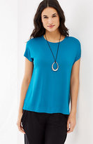 J. Jill Wearever Short-Sleeve Top