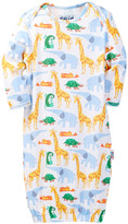 Beanstalx Eric Carle 1, 2, 3 To The Zoo Gown (Baby)