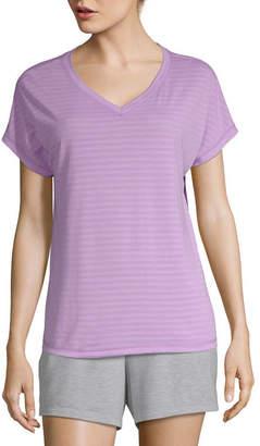 Xersion Womens V Neck Short Sleeve T-Shirt