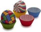 Wilton Primary Print Multi-Colored Mini Bake Cups
